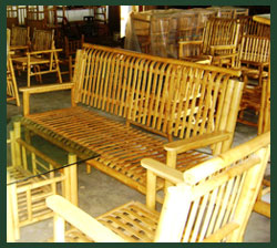 Bamboo products from peoples forest